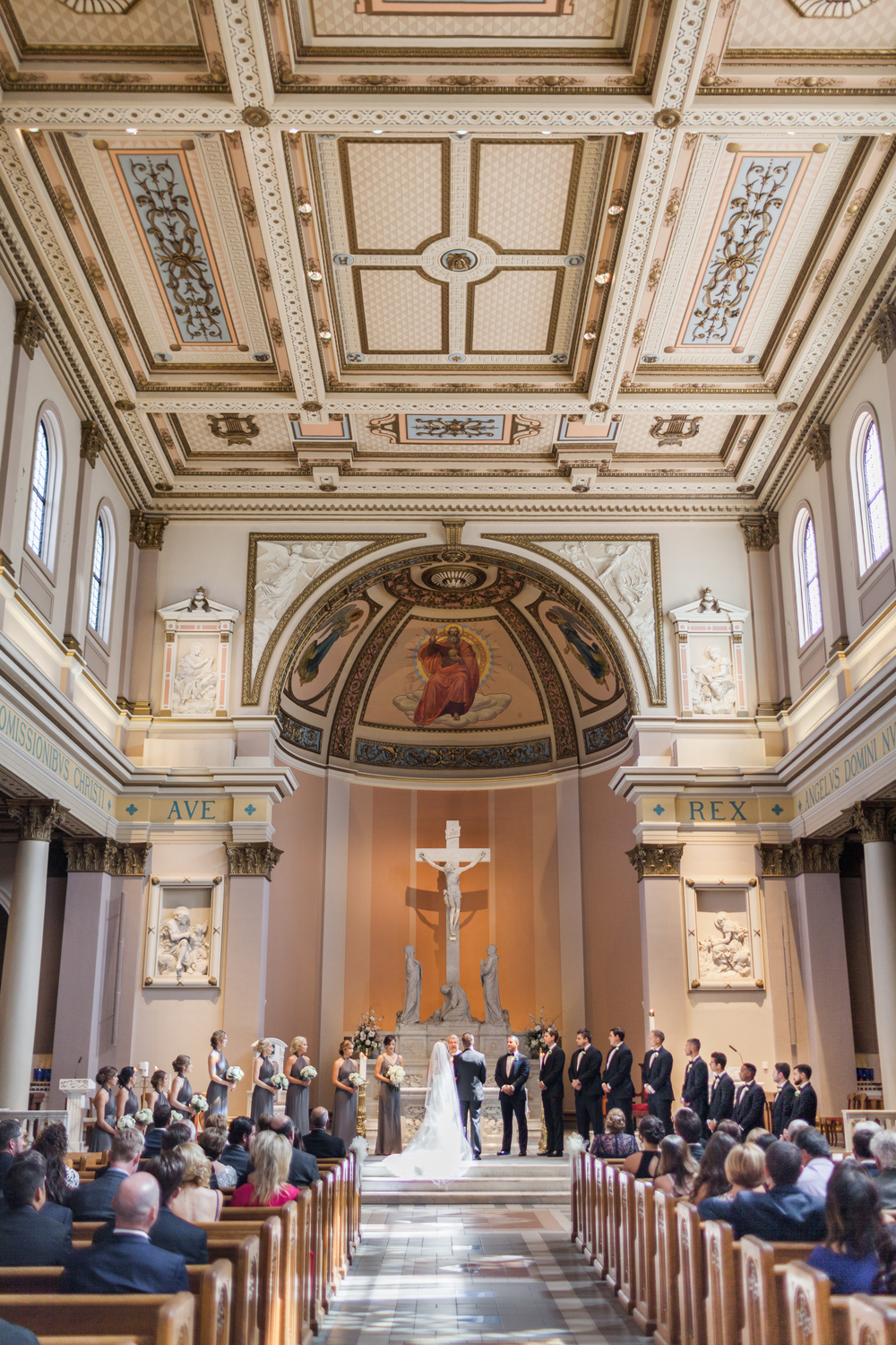 Cathedral Nashville Tennessee Wedding Photography