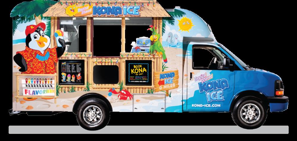 Kona ice - frozen ice treats