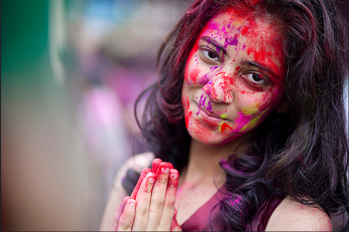 Holi is India's most colourful Festival