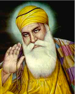 Guru Nank, the founder of Sikhism