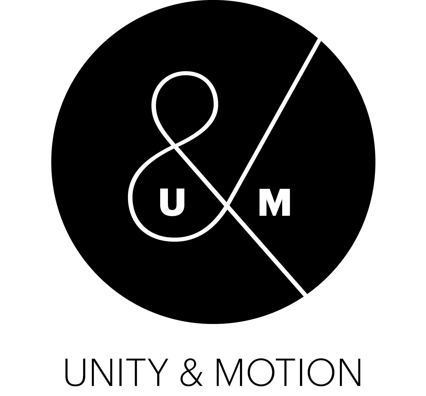 Unity and motion's Company logo