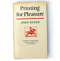 Printing for Pleasure by John Ryder