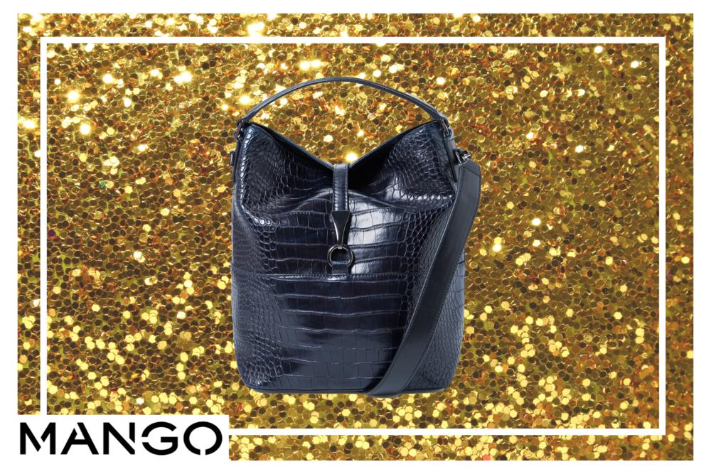 Last but not least, te presentamos el BucketBag de Mango. Si querés salirte de las líneas clásicas de este diseño, podés buscar este nuevo modelo que trae textura, elegancia y comodidad. Te prometemos que no te quitarán la mirada de encima.