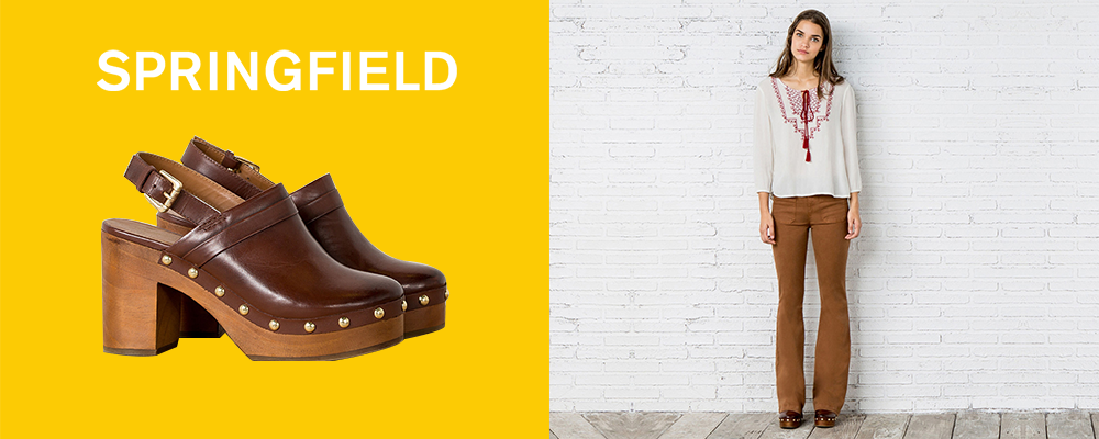 2. SPRINGFIELD LEATHER CLOGS