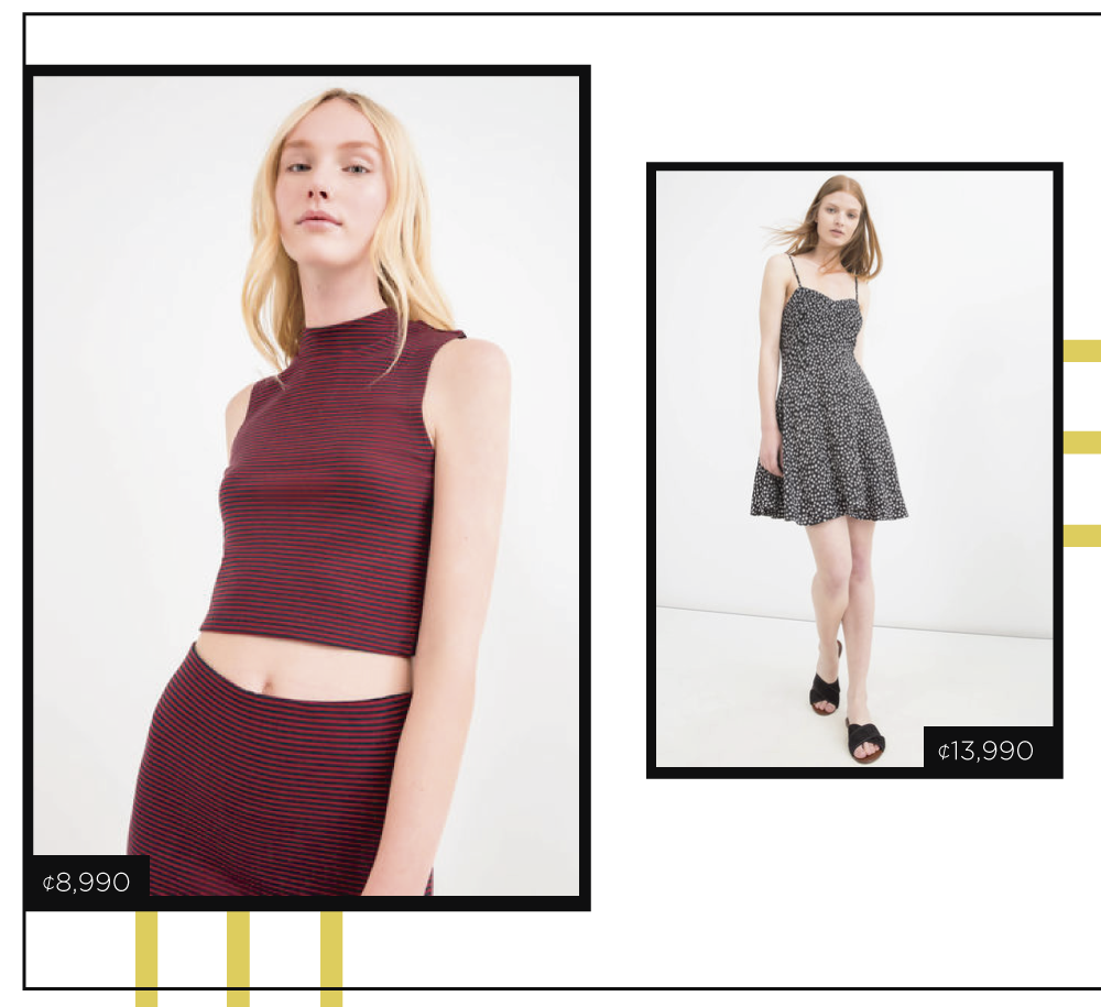 Encontrá tus prendas favoritas en OVS Lincoln Plaza y Avenida Escazú.