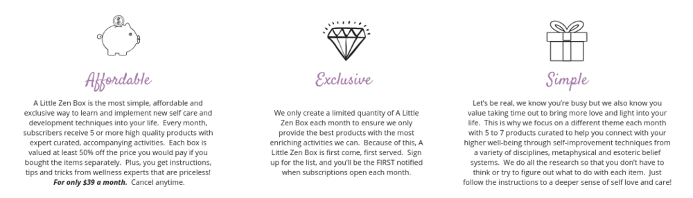 A Little Zen Box