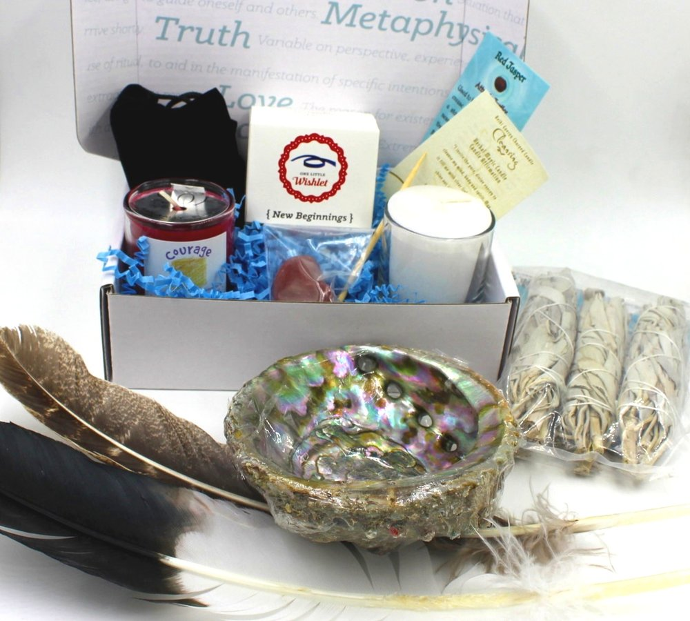 New Beginnings A Little Zen Box - Clearing your space to bring in the energy of new beginnings.