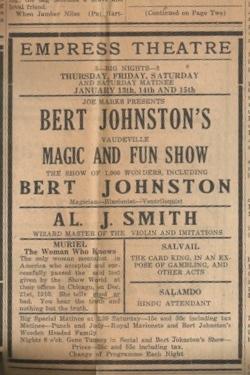 Gazette? - 1927