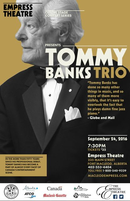 Centre Stage Tommy Banks