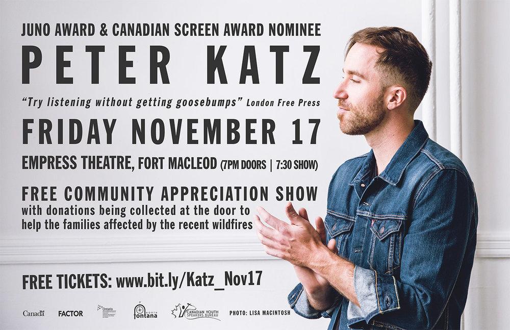 Peter Katz Nov. 17