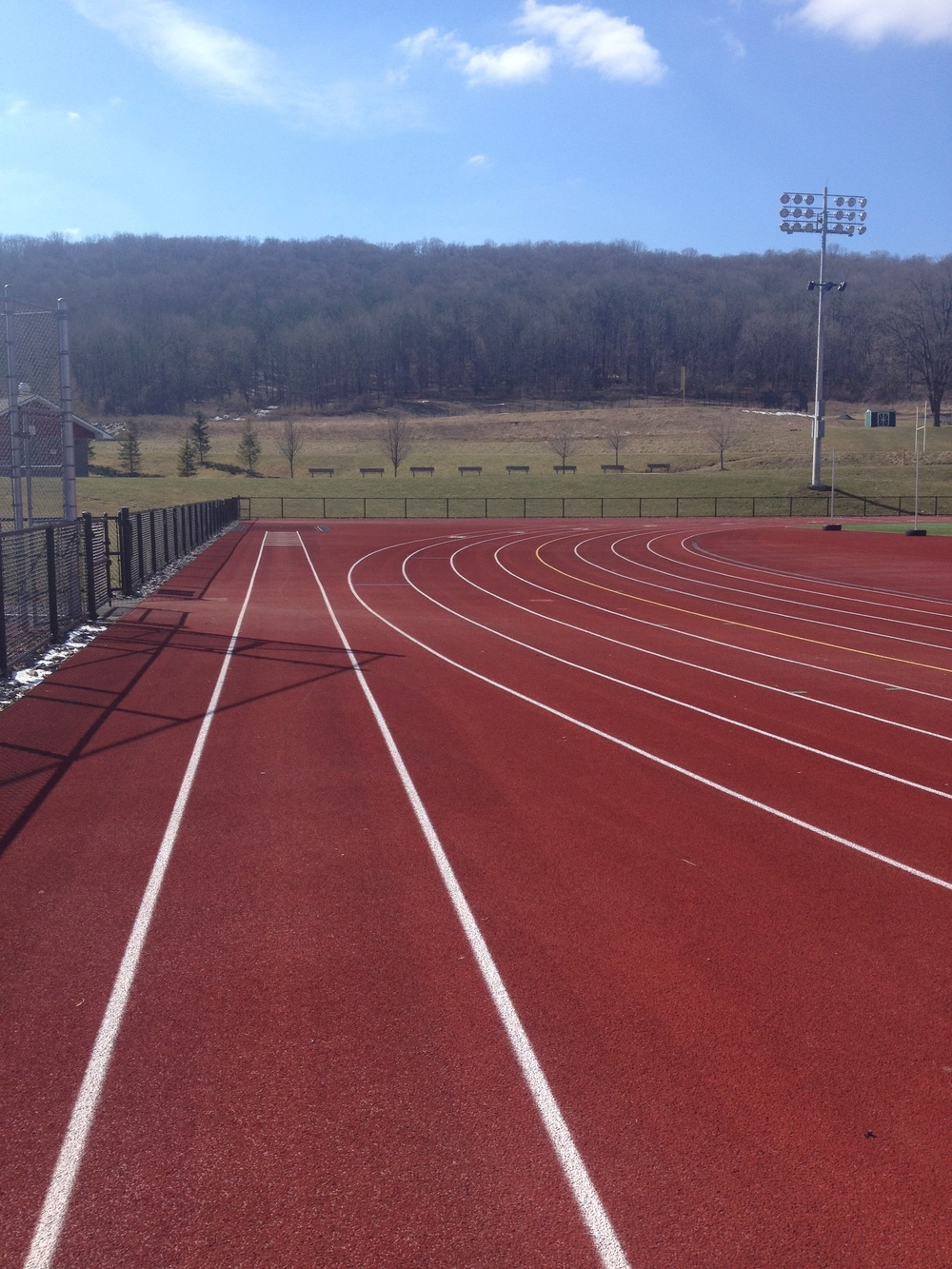 200's are my fav track distance, for speed-work! :D
