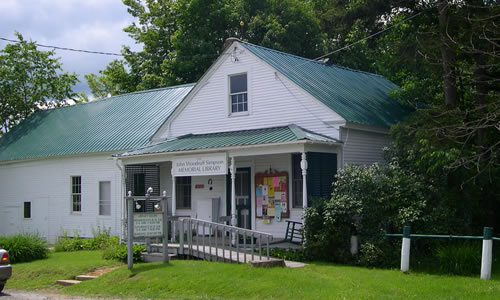 John Woodruff Simpson Library 1977 East Craftsbury Road  Craftsbury VT 05826  Phone: (802) 586-9692