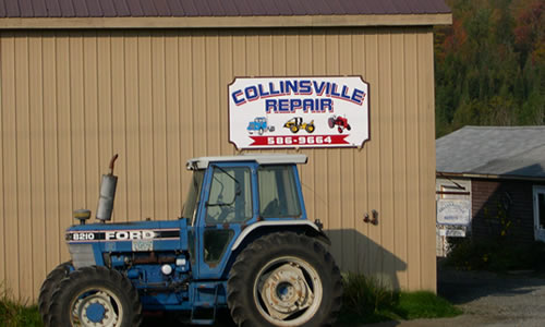 Collinsville Repair   Collinsville Road  Craftsbury   VT 05826   Phone: (802) 586-9664