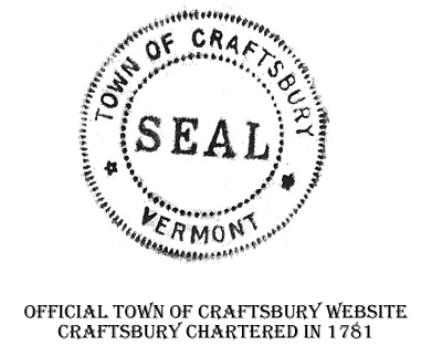 town of craftsbury seal