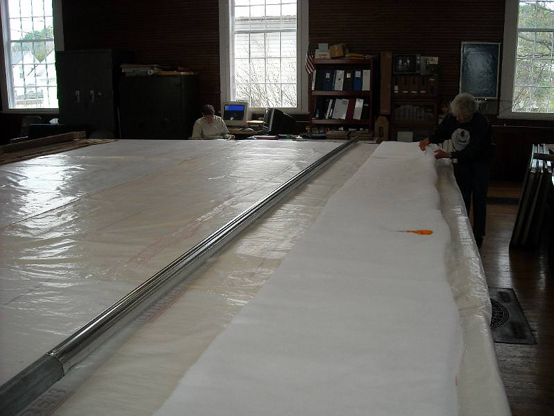 Craftsbury Curtain Restoration in 2009