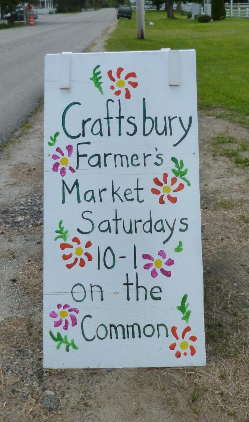 Craftsbury Farmer's Market