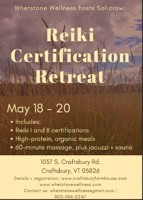 Reiki I & II Certification at WW — Town of Craftsbury
