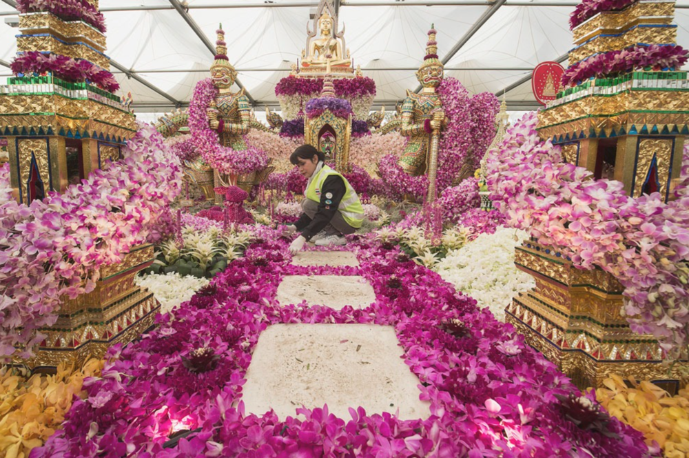 Nong Nooch Tropical Botanical Garden; photo:  ANTHONY DEVLIN/PA WIRE /ASSOCIATED PRESS