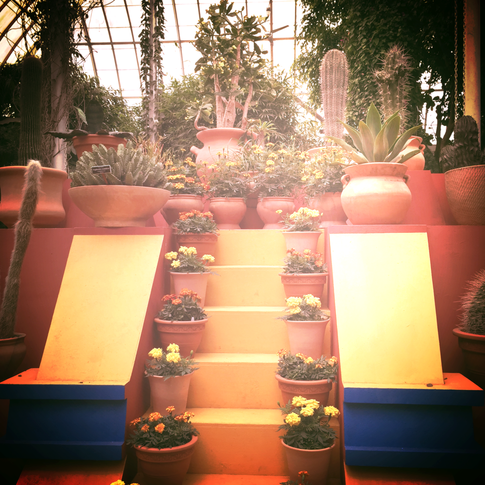 Casa Azul's iconic pyramid