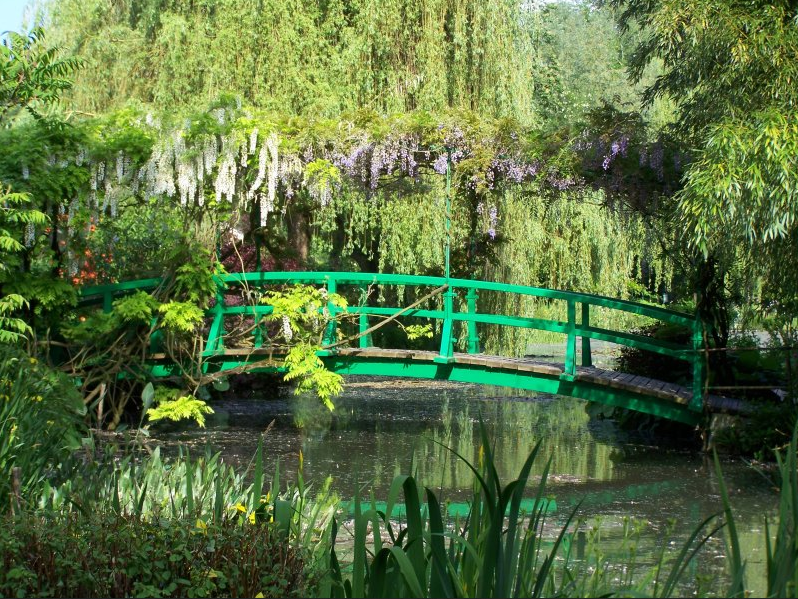Claude Monet's garden; Giverny, France.