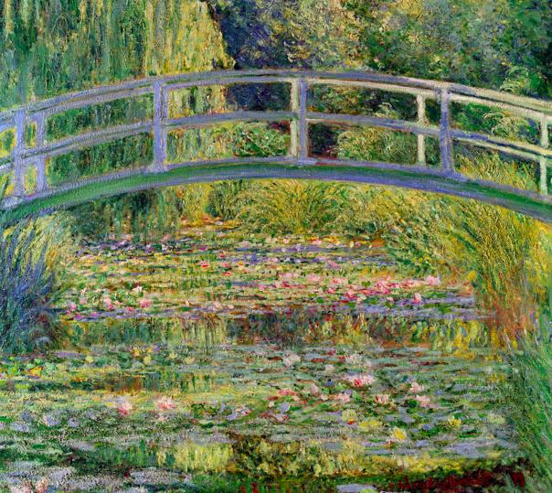 Water Lilies Under The Japanese Bridge, Claude Monet; 1899