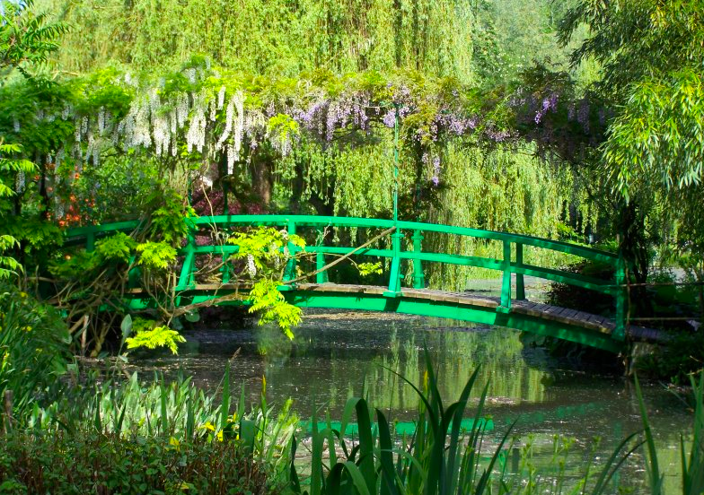 Claude Monet's garden; Giverny, France.