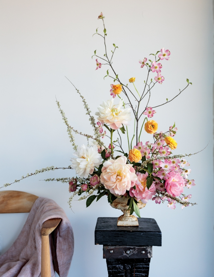 Rosegolden Flowers.© Ingalls Photography, courtesy of Rizzoli