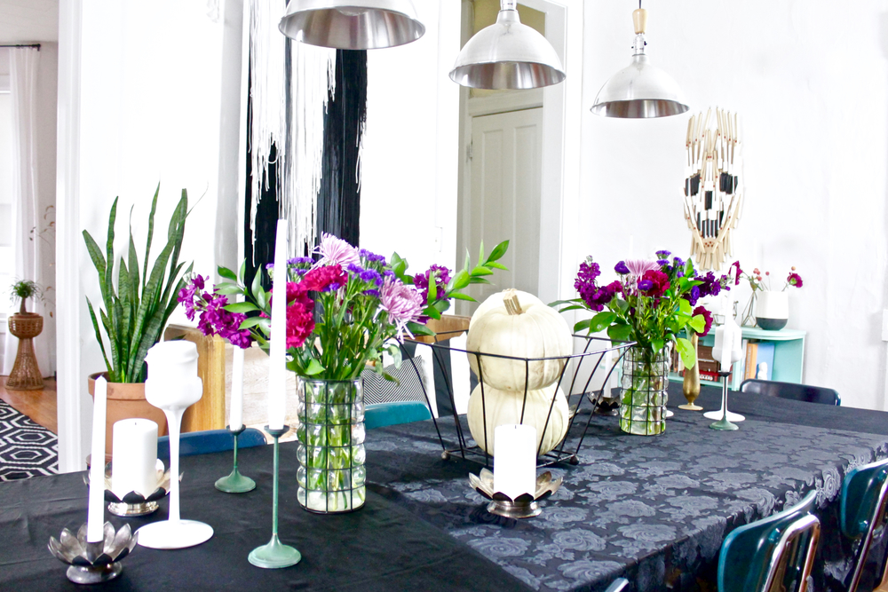 FallGothicTableSettingFlowers2