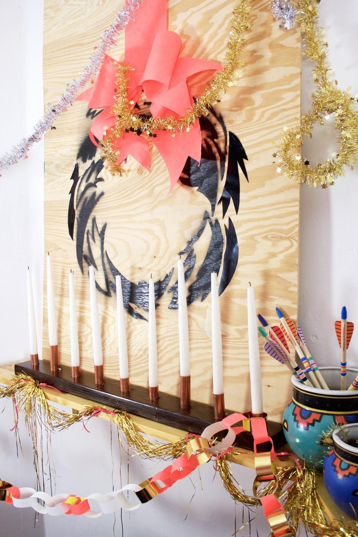 PlywoodStenciledWreath
