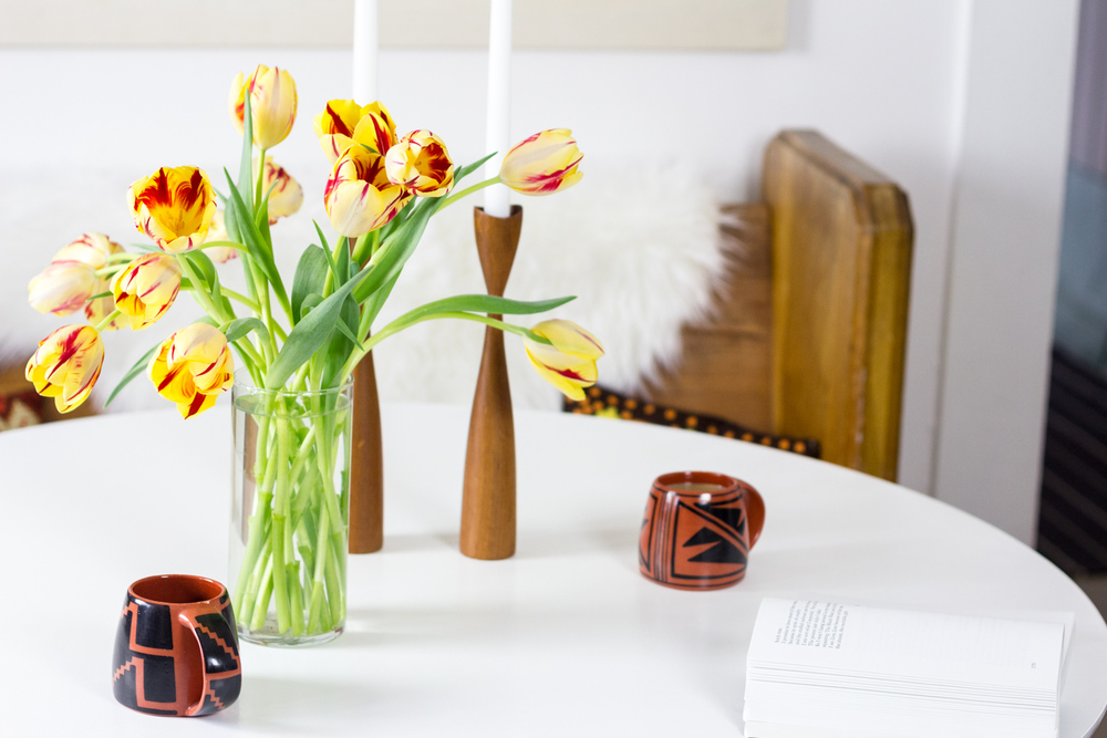 Tulips on a Tulip Table