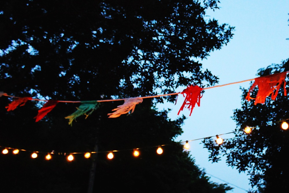 Summer Night Party Lights – M Pettipoole