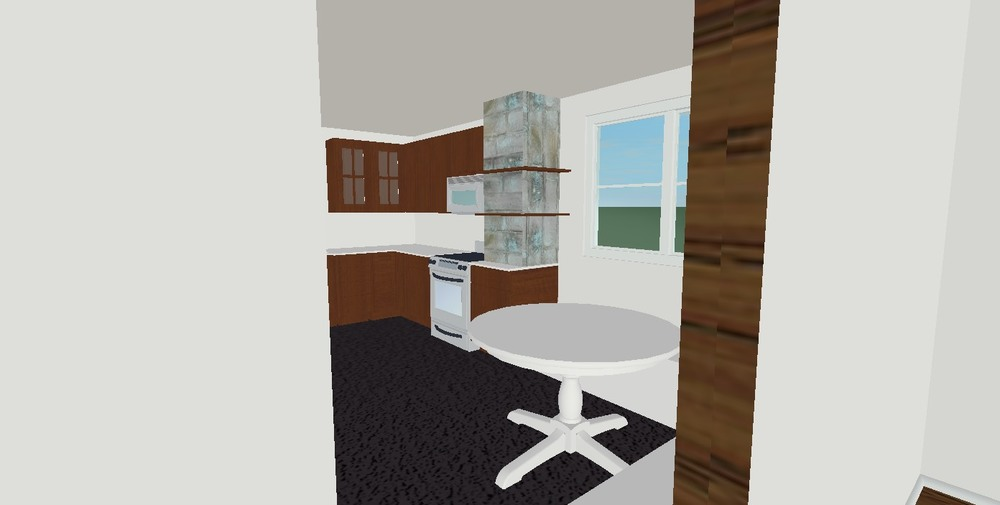 M Pettipoole – Mayberry Rental Kitchen Option 3 Rendering