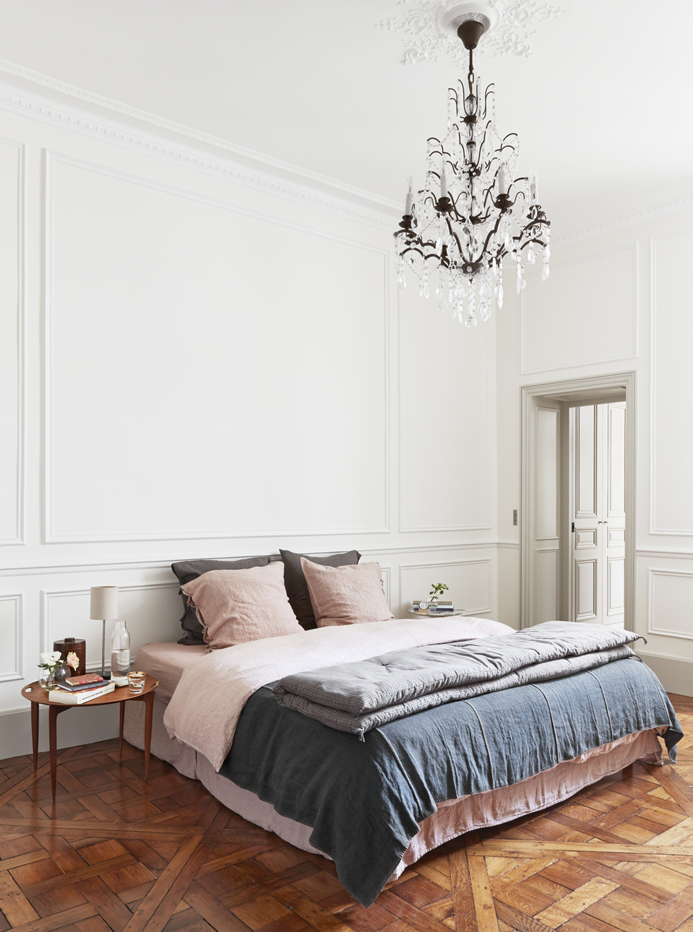 Casual Parisian Bedroom