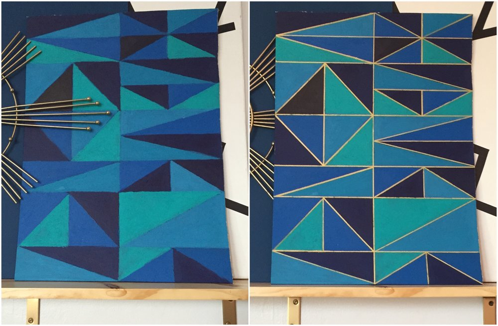 DIY Geometric Art – M Pettipoole