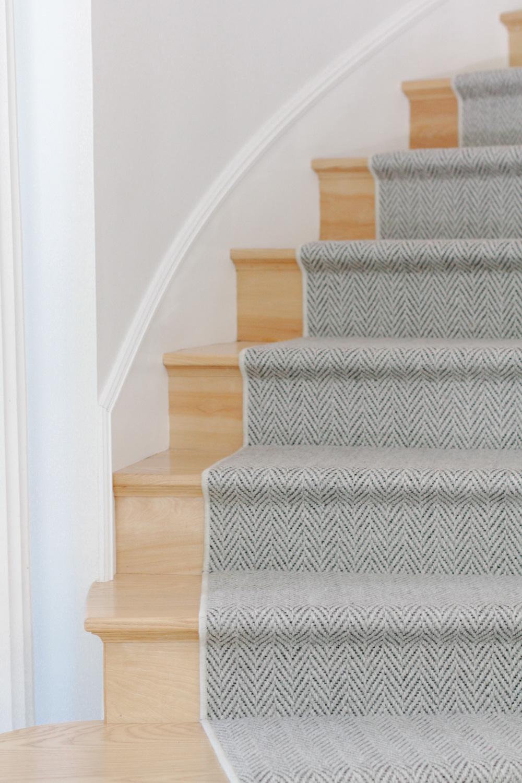 Herringbone Stair Runner