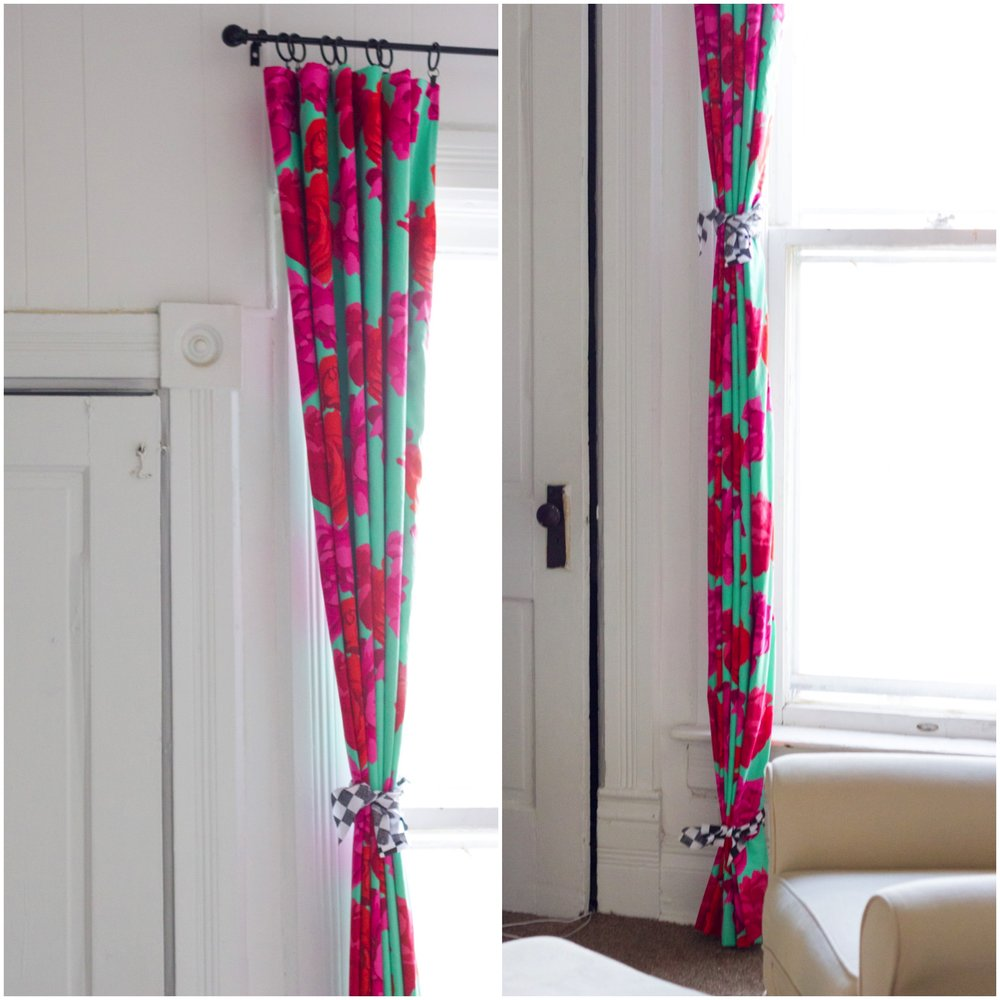 train curtains to drape correctly