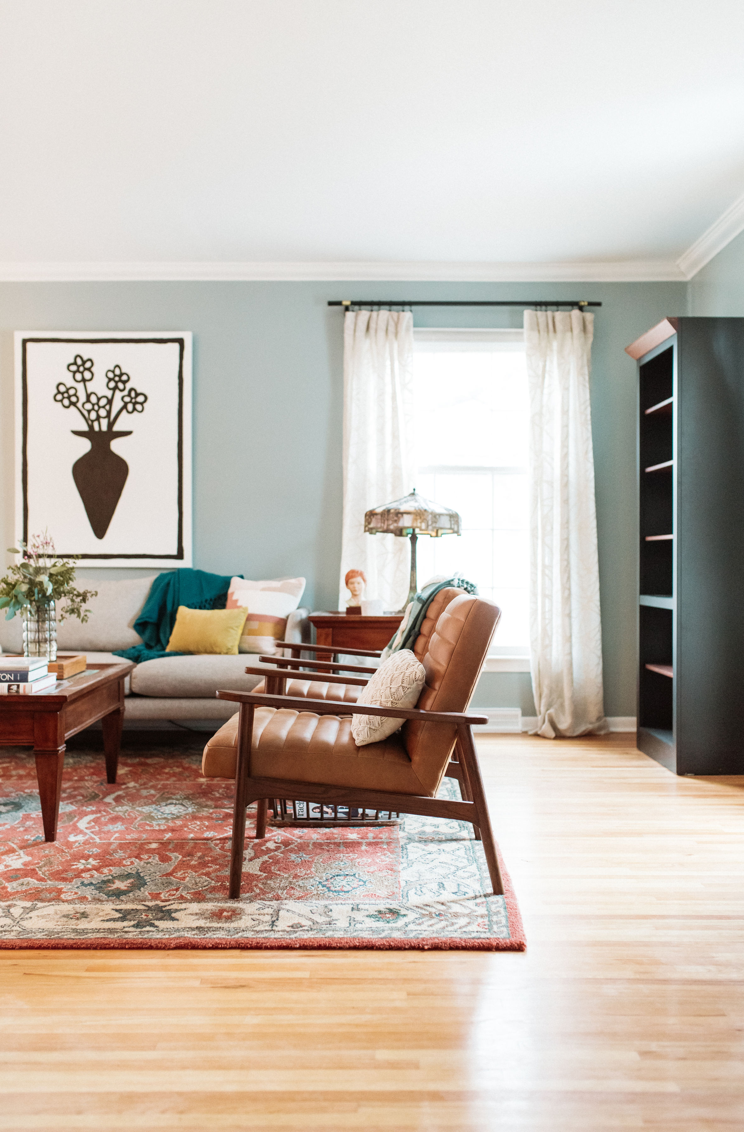 Retuned Traditional Living Room – Reveal! — M Pettipoole