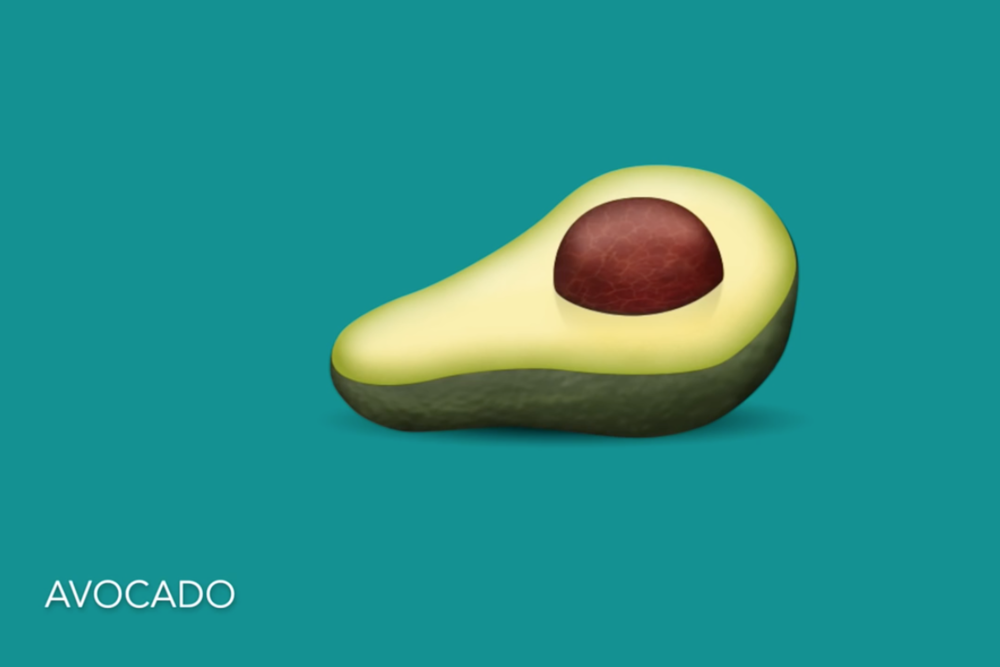 Being the avid avocado fan that I am, this emoji brings me immense joy.
