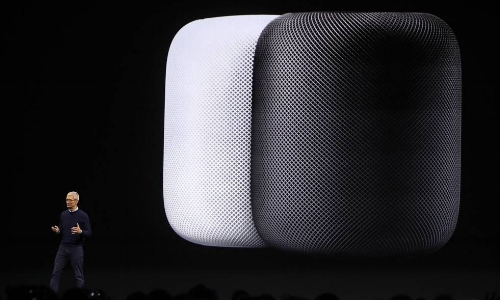 Sound a little like 'Alexa'? At $350, Apple's new 7 inch smart speaker comes equipped with Siri, 7 tweeters (loudspeakers designed to reproduce high frequencies), and runs on the Apple A8 chip. My favorite part--the Home Pod customizes its sound to fill out the room it's in. Want to know when you can get it? Just in time for your holiday party! You can ask Siri to play your favorite winter tunes when the Apple HomePod ships out in December.