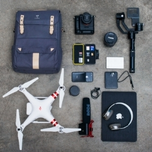 photography and videography equipment