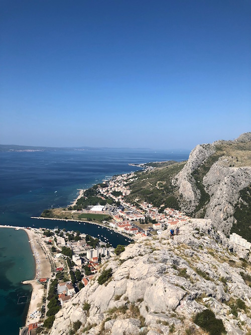 Omis, an adorable little town about 30 minutes from Split by bus, where we went hiking one Wednesday morning.