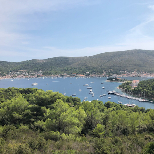 The island of Vis, about a two hour ferry ride from Split, was absolutely gorgeous. If it looks familiar, it might be because Mamma Mia 2 filmed here!