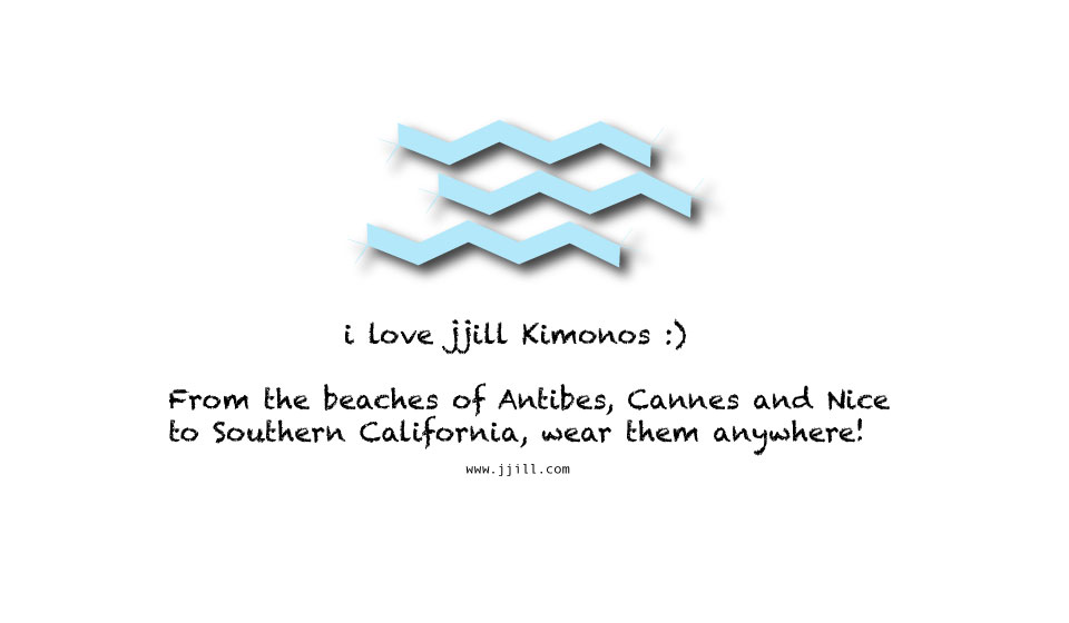 I love Jjill kimono, illustration©gunjanvirk