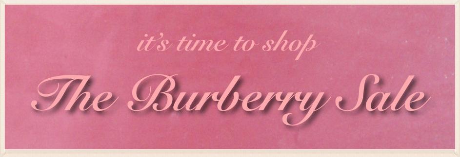 Burberry sale. Image©gunjanvirk
