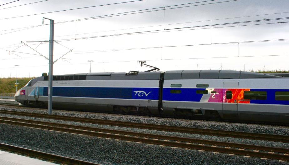 The TGV, French high speed train. Image©gunjanvirk