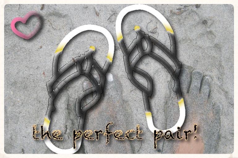 My LLBean flip flops! Image©gunjanvirk