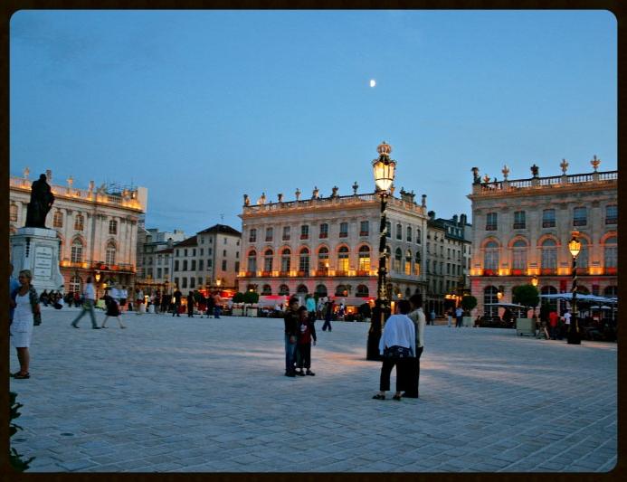 Place Stanislas in the night. Image©gunjanvirk