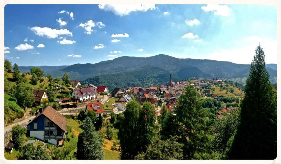 The little village of Bermersbach from the iPhone5, Black Forest, Germany. Image©gunjanvirk