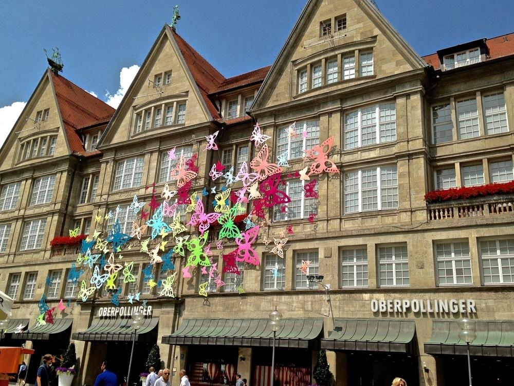 Oberpollinger, Marienplatz,Munich, Germany. Image©gunjanvirk