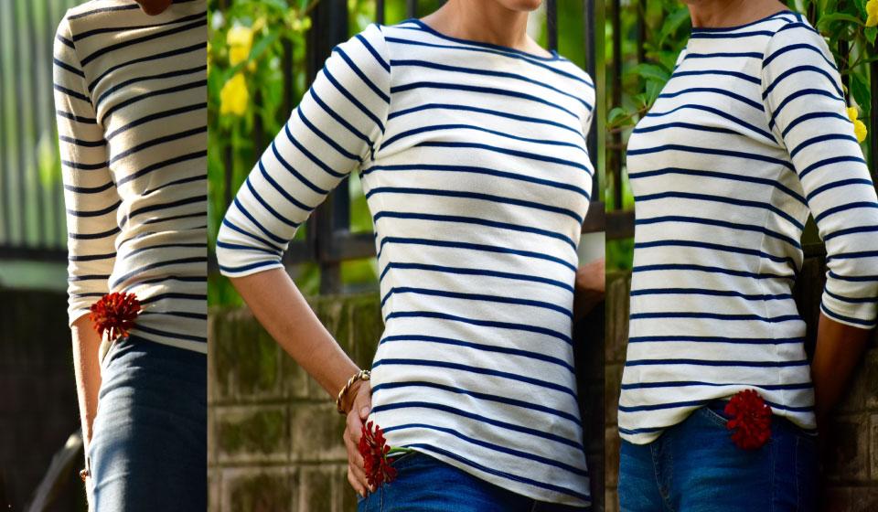My Zara striped tee. Image©gunjanvirk